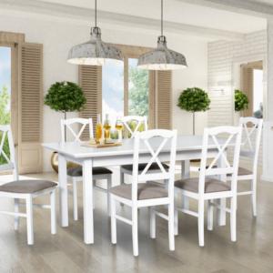 Komplety krzeseł i stołów